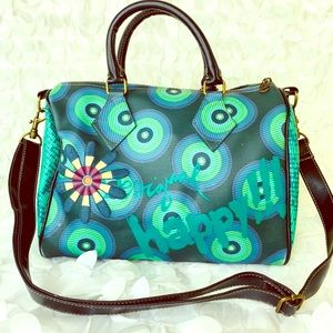 Desigual HAPPY!!! Handbag With Removable Strap